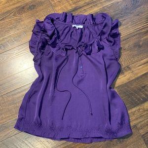 Violet & Claire purple blouse size M